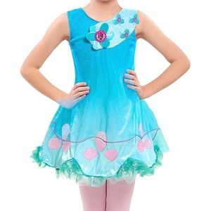 Other - Trolls Princess Poppy Dress 4-6x play costume